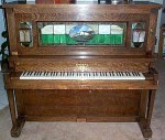 Player piano from Saloon